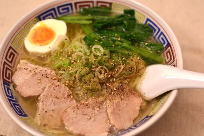 塩ラーメン(マルちゃん・北の味わい 函館しお