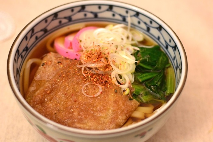 きつね蕎麦(濃い口醤油