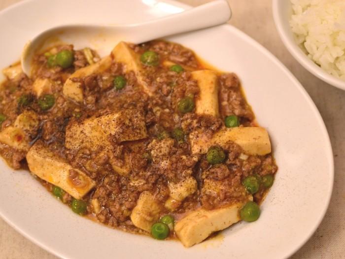 麻婆豆腐(広東風