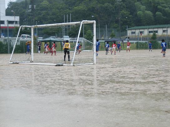 kei 雨の試合