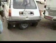 縦列駐車が楽チンで出来るエジプトの乗用車