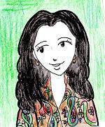 斉藤伸子お姉さん・イラスト