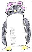 とんでけブッチー・ペンギン・イラスト