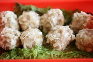 れんこん豆腐シューマイ3