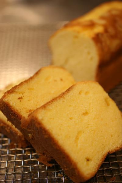 クリームチーズパウンドケーキ2