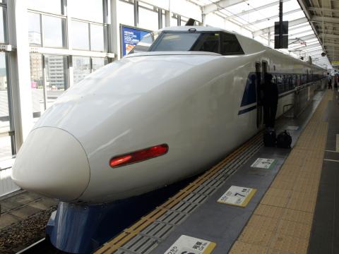 岡山駅100系K編成2
