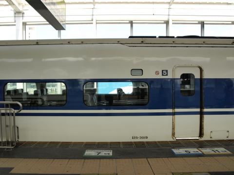 岡山駅100系K編成3