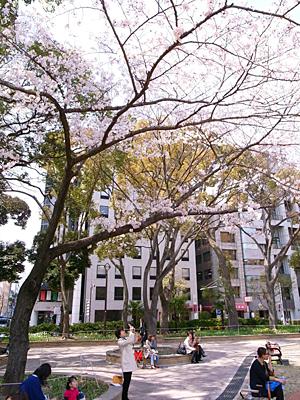 横浜公園にて02