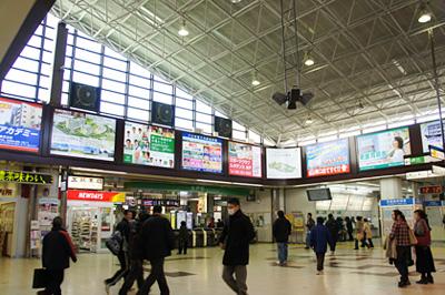 水戸駅コンコース