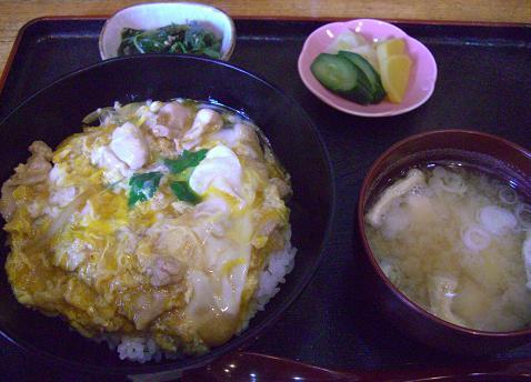 親子丼定食(鳥勝@青砥)