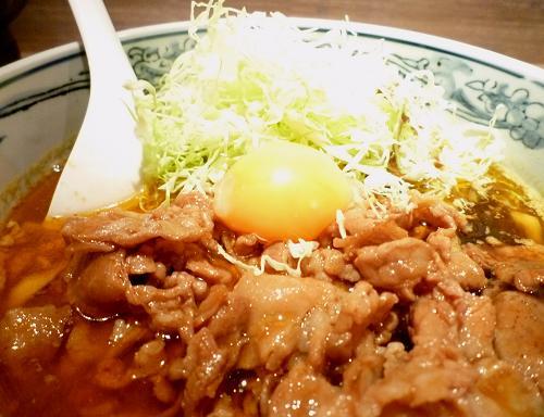 『江戸きん』 カリー麺(アップ)