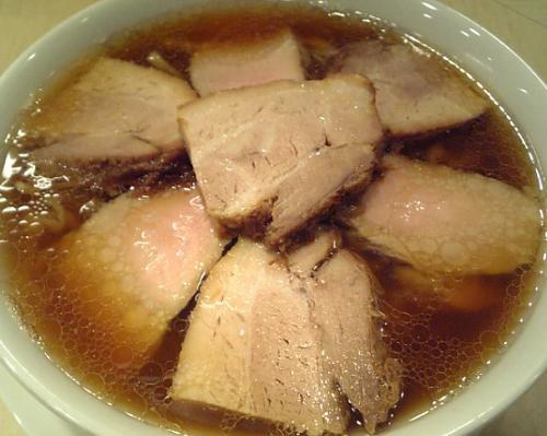 『麺や 七彩』 喜多方ちゃーしゅーめん(醤油味)