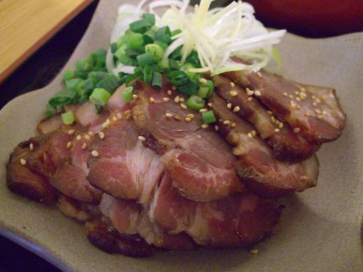 『エン座』 皿焼豚(600円)