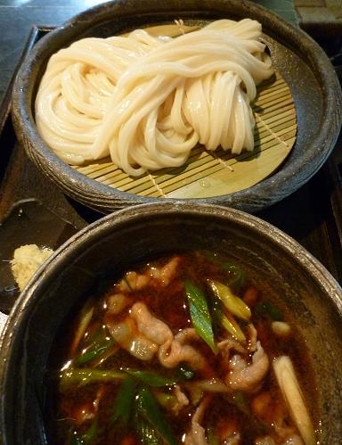 『山元麺蔵』 豚肉のつけ麺・アップ