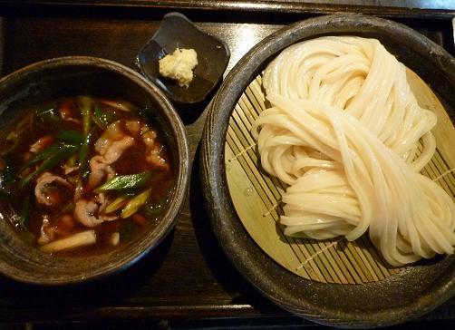 『山元麺蔵』 豚肉のつけ麺(890円)