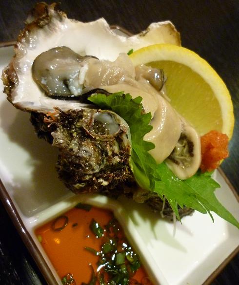 『亀』 岩牡蠣