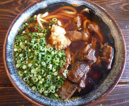 『元祖肉肉うどん』 肉肉うどん(580円)