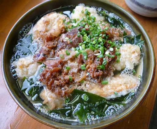 『うどん屋まさ』 肉ごぼう(700円)