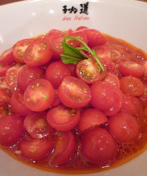 『ラーメン道 Due Italian』 冷製イタリア麺 赤(アップ)