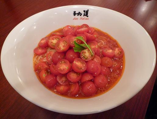 『ラーメン道 Due Italian』 冷製イタリア麺(1200円)
