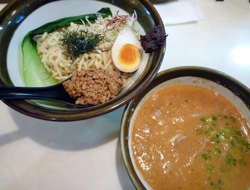 『ぜん』 坦々つけ麺(900円)