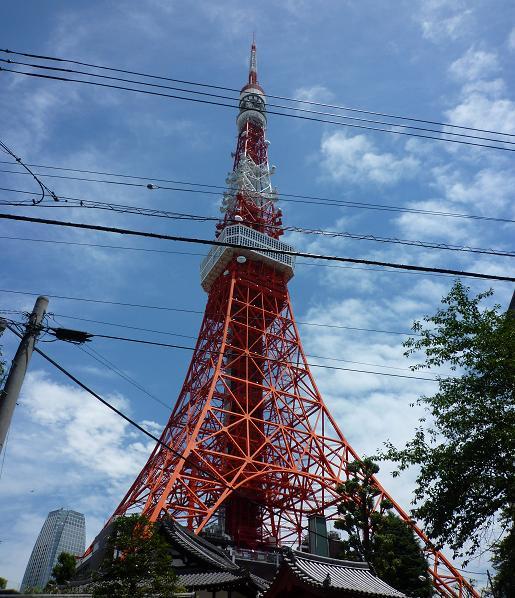 梅雨明けの東京タワー2009