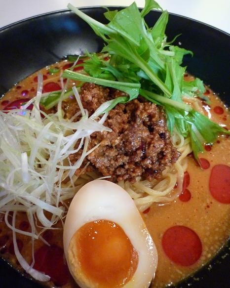 『日月飯店』 冷やし担々麺(アップ)