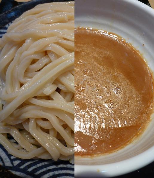 『つけ麺 道』 つけめん(麺と汁のアップ)