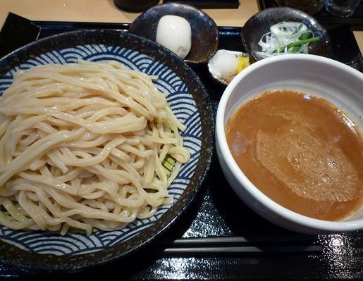 『つけ麺 道』 つけめん500円+味玉100円+中盛オープン記念無料(通常は50円)