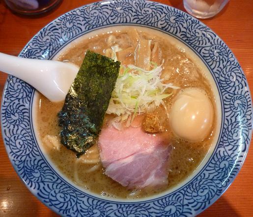 『ほん田』 味玉濃厚魚介らーめん 780円