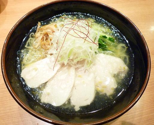 『きび お台場店』 冷し鶏そば(900円・夏季限定)