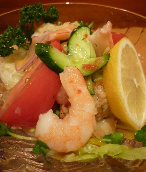 『ゆた華』 海鮮サラダ
