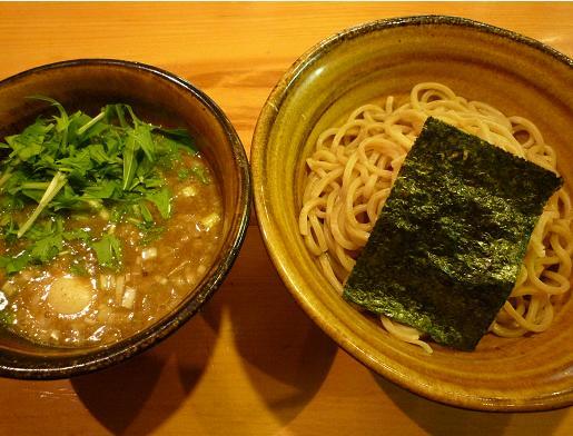 『えん寺』 味玉入りつけ麺(890円)