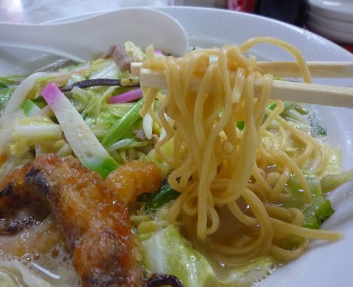『寛太郎』 戸畑チャンポン(麺リフト)
