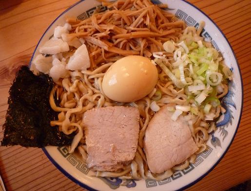 『ケンチャンラーメン山形』 中華そば+煮卵クン(730円)