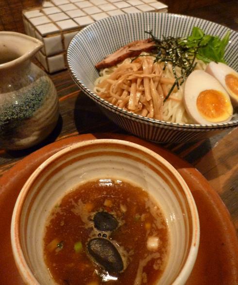 『生粋』 石焼麺せいろ(アップ)