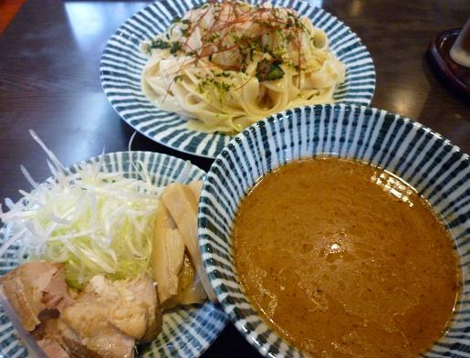 『薫寿』 つけ麺(750円)