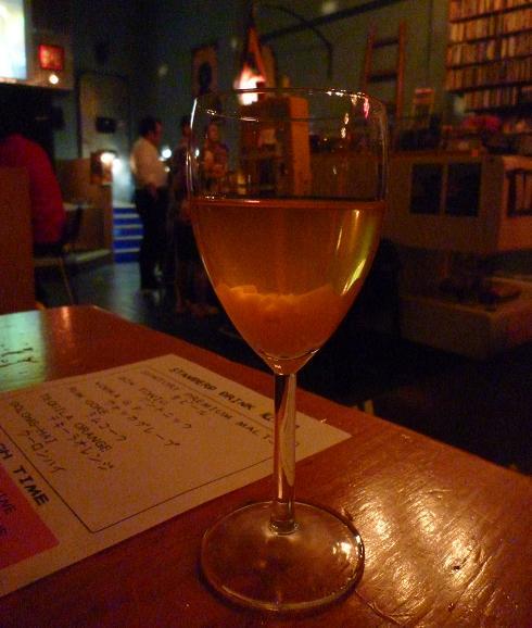 『RIPPLE』 ピーチホワイトワイン(オリジナルカクテル)
