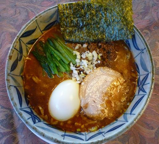 『花キッチン』 金ごまタンタン麺(850円)