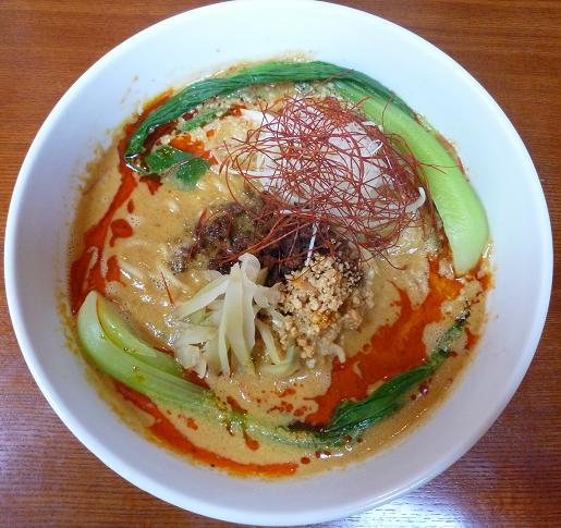 『宮ざき』 担々麺(850円)