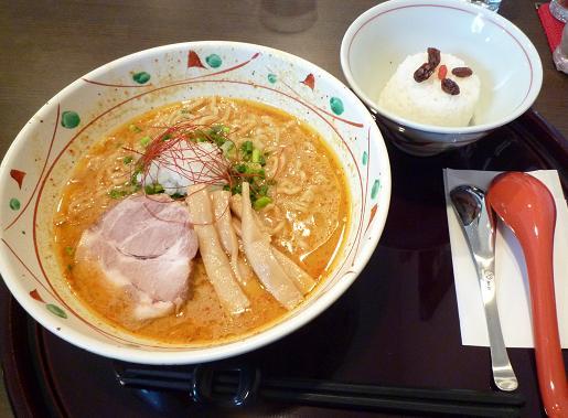 『麺や 亀』 エスニック麺(20食限定・並)750円