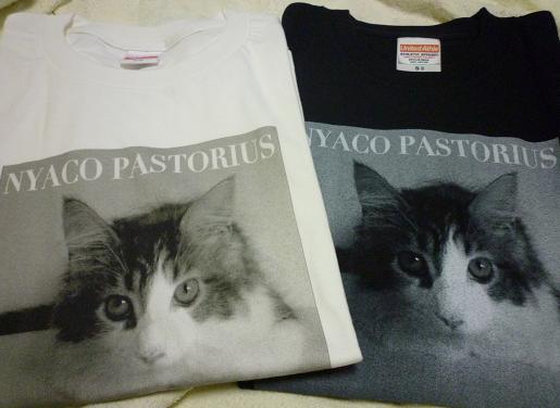 森広隆さんの公式Tシャツ二種類