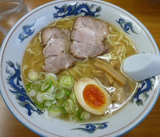 『ゆーから』 塩ラーメン(650円)