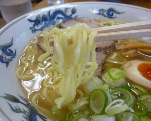 『ゆーから』 塩ラーメン(麺リフト)