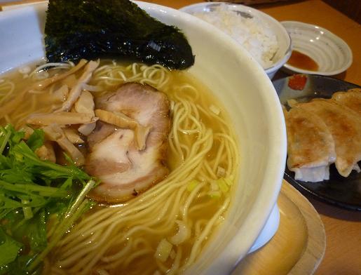 『もぐや』 塩ら~麺+ランチ(アップ)
