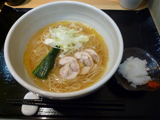 『つけ麺 道』 次世代鶏ポンラーメン(600円)
