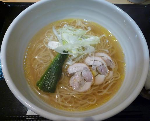 『つけ麺 道』 次世代鶏ポンラーメン(ラーメンのみ)
