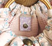 グラニーバッグ 内側 マグネットボタン