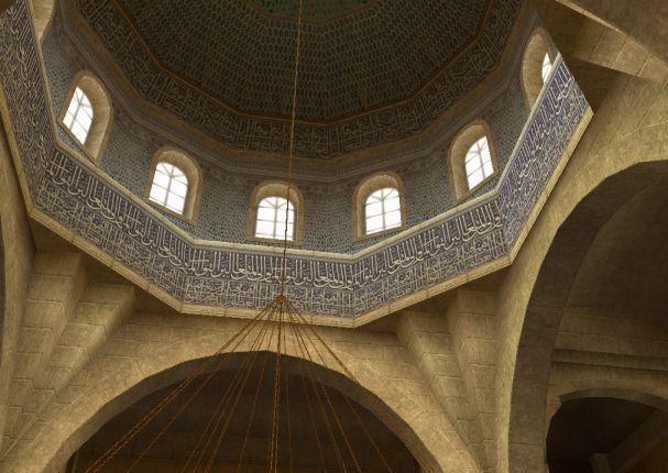 アレクサンドリア寺院の内部