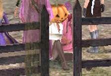 なぞのかぼちゃ星人^^